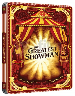 THE GREATEST SHOWMAN (New Visual) Steelbook™ Limited Collector's Edition
