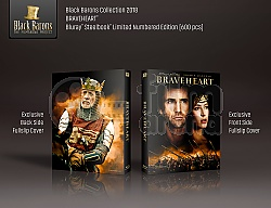 BLACK BARONS #19 BRAVEHEART Full Slip XL + Lenticular Magnet 4K Ultra HD Steelbook™ Limited Collector's Edition - numbered