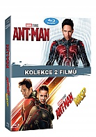 ANT-MAN 1 + 2 (Ant-Man + Ant-Man And The Wasp) Collection (2 Blu-ray)