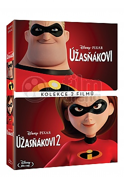 THE INCREDIBLES 1 + 2 Collection