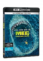 MEG: Monstrum z hlubin 4K Ultra HD (2 Blu-ray)