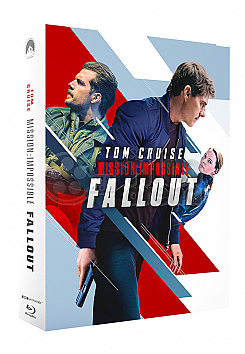 FAC #132 MISSION: IMPOSSIBLE VI - Fallout FULLSLIP XL + LENTICULAR MAGNET Edition #1 Steelbook™ Limited Collector's Edition - numbered