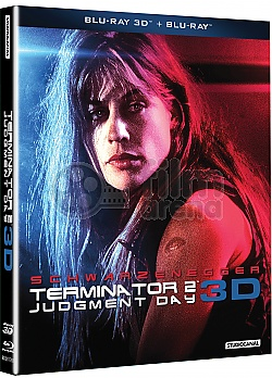 Terminator 2: Judgment Day + GIFT COLLECTIBLE O-RING SARAH CONNOR 3D + 2D Remastered Edition