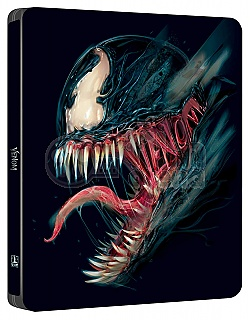 VENOM (BLACK & BLUE POP ART SteelBook Version WWA Generic) 4K Ultra HD 3D + 2D Steelbook™ Limited Collector's Edition