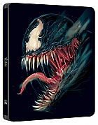 VENOM (BLACK & BLUE POP ART SteelBook Version WWA Generic) 3D + 2D Steelbook™ Limited Collector's Edition (4K Ultra HD + Blu-ray 3D + Blu-ray)