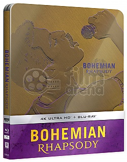 Bohemian Rhapsody 4K Ultra HD Steelbook™ Limited Collector's Edition + Gift Steelbook's™ foil