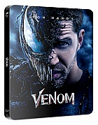 FAC *** VENOM (WEA Exclusive SteelBook Version 3BD) 3D + 2D Steelbook™ Limited Collector's Edition (Blu-ray 3D + 2 Blu-ray)