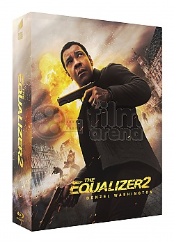 FAC #111 THE EQUALIZER 2 Double Lenticular 3D (Front & Back) FullSlip EDITION #2 Steelbook™ Limited Collector's Edition - numbered