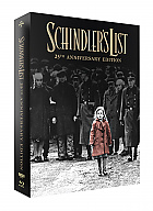 FAC #124 SCHINDLER'S LIST Lenticular 3D FullSlip XL + Lenticular 3D Magnet Steelbook™ Limited Collector's Edition - numbered + Gift Steelbook's™ foil (4K Ultra HD + 2 Blu-ray)