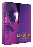 FAC #115 BOHEMIAN RHAPSODY FullSlip XL + Lenticular Magnet Steelbook™ Limited Collector's Edition - numbered + Gift Steelbook's™ foil (4K Ultra HD + Blu-ray)