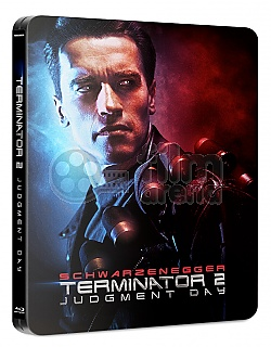 FAC #110 TERMINATOR 2: Judgment Day J-CARD EDITION #5 3D + 2D Steelbook™ Extended cut Digitally restored version Limited Collector's Edition - numbered