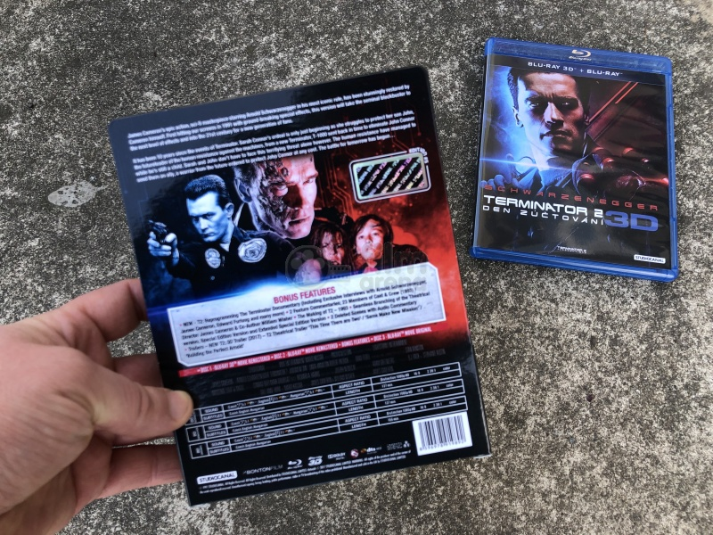 b8f860a54 FAC #110 TERMINATOR 2: Judgment Day J-CARD EDITION #5 3D + 2D Steelbook™  Extended cut Digitally restored version Limited Collector's Edition -  numbered ...