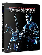 FAC #110 TERMINÁTOR 2: Den zúčtování J-CARD EDITION #4 GLOW IN THE DARK EFFECT 4K Ultra HD Steelbook™ Prodloužená verze Digitálně restaurovaná verze Limitovaná sběratelská edice - číslovaná (3 Blu-ray)