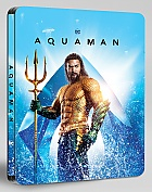 AQUAMAN 3D + 2D Steelbook™ Limited Collector's Edition (Blu-ray 3D + Blu-ray)