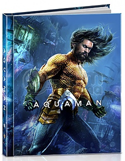 AQUAMAN 3D + 2D DigiBook Limited Collector's Edition