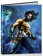 AQUAMAN 3D + 2D DigiBook Limited Collector's Edition (Blu-ray 3D + Blu-ray)