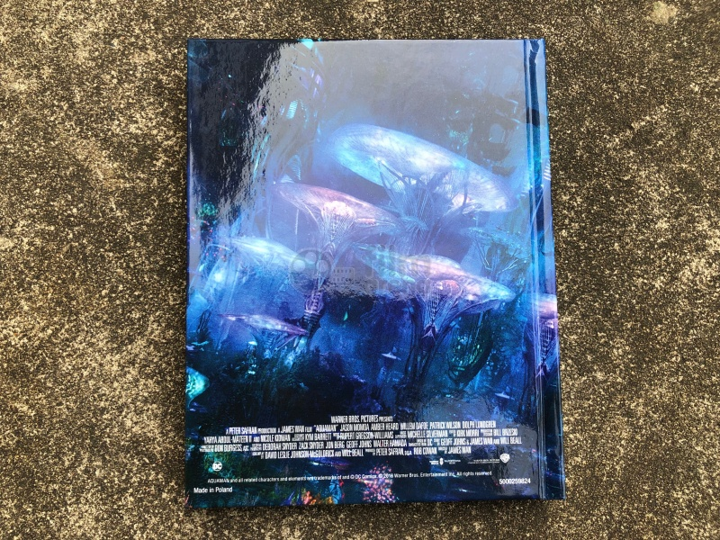 AQUAMAN 3D + 2D DigiBook Limited Collector's Edition (Blu