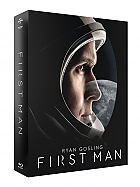 FAC #123 FIRST MAN FullSlip XL + Lenticular Magnet Steelbook™ Limited Collector's Edition - numbered + Gift Steelbook's™ foil (Blu-ray)