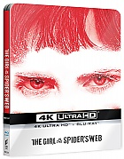 The Girl in the Spider's Web 4K Ultra HD Steelbook™ Limited Collector's Edition + Gift Steelbook's™ foil (2 Blu-ray)