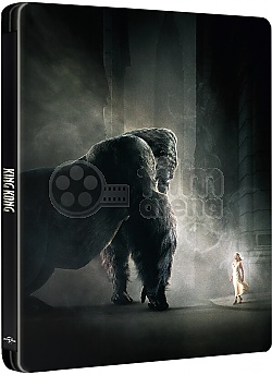 KING KONG Steelbook™ Extended director's cut Limited Collector's Edition + Gift Steelbook's™ foil