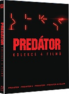 PREDATOR 1 - 4 Collection (4 Blu-ray)