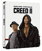 CREED II 4K Ultra HD Steelbook™ Limited Collector's Edition + Gift Steelbook's™ foil (2 Blu-ray)