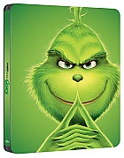 The Grinch 3D + 2D Steelbook™ Limited Collector's Edition + Gift Steelbook's™ foil (Blu-ray 3D + Blu-ray)