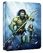 AQUAMAN Steelbook™ Limited Collector's Edition + Gift Steelbook's™ foil (Blu-ray)
