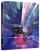 Spider-Man: Into the Spider-Verse INTERNATIONAL Version #2 3D + 2D Steelbook™ Limited Collector's Edition + Gift Steelbook's™ foil (Blu-ray 3D + 2 Blu-ray)
