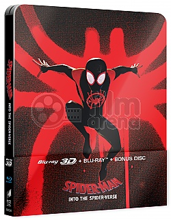 Spider-Man: Into the Spider-Verse Sony Pictures Animation Version #3 3D + 2D Steelbook™ Limited Collector's Edition + Gift Steelbook's™ foil