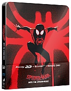 Spider-Man: Into the Spider-Verse Sony Pictures Animation Version #3 3D + 2D Steelbook™ Limited Collector's Edition + Gift Steelbook's™ foil (Blu-ray 3D + 2 Blu-ray)