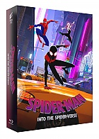FAC #116 Spider-Man: Into the Spider-Verse FullSlip XL + RESIN MAGNET Version #4 4K Ultra HD 3D + 2D Steelbook™ Limited Collector's Edition - numbered + Gift Steelbook's™ foil (Blu-ray 3D + 3 Blu-ray)
