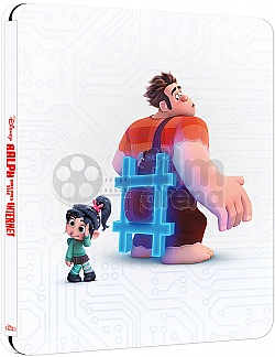Ralph Breaks the Internet Steelbook™ Limited Collector's Edition + Gift Steelbook's™ foil