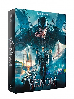 FAC *** VENOM Double 3D Lenticular XL FullSlip EDITION #2 3D + 2D Steelbook™ Limited Collector's Edition - numbered