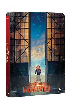 CAPTAIN MARVEL Steelbook™ Limited Collector's Edition + Gift Steelbook's™ foil
