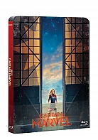 CAPTAIN MARVEL Steelbook™ Limited Collector's Edition + Gift Steelbook's™ foil (Blu-ray)