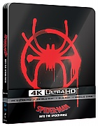 Spider-Man: Into the Spider-Verse + RESIN MAGNET Version #4 4K Ultra HD 3D + 2D Steelbook™ Limited Collector's Edition + Gift Steelbook's™ foil (Blu-ray 3D + 3 Blu-ray)