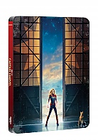 FAC *** CAPTAIN MARVEL Lenticular 3D FullSlip EDITION #2 Steelbook™ Limited Collector's Edition - numbered (Blu-ray)