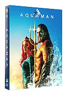 FAC #121 AQUAMAN FullSlip + Lenticular Magnet EDITION #1 Steelbook™ Limited Collector's Edition - numbered (Blu-ray 3D + Blu-ray)