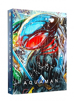 FAC #121 AQUAMAN Double Lenticular 3D FullSlip EDITION #3 Steelbook™ Limited Collector's Edition - numbered