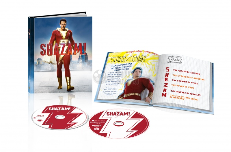 Shazam! DigiBook Limited Collector's Edition (4K Ultra HD +