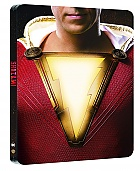 SHAZAM! 3D + 2D Steelbook™ Limited Collector's Edition + Gift Steelbook's™ foil (Blu-ray 3D + Blu-ray)
