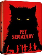 Pet Sematary (2019) Steelbook™ Limited Collector's Edition + Gift Steelbook's™ foil (Blu-ray)