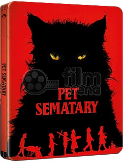 PET SEMATARY (2019) Steelbook™ Limited Collector's Edition + Gift Steelbook's™ foil