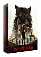 FAC #125 PET SEMATARY (2019) FullSlip XL + Lenticular 3D Magnet Steelbook™ Limited Collector's Edition - numbered (4K Ultra HD + Blu-ray)