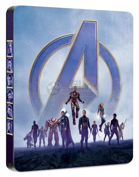 AVENGERS: Endgame (Infinity War - Part II) 3D + 2D Steelbook