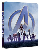 AVENGERS: Endgame (Infinity War - Part II) 3D + 2D Steelbook™ Limited Collector's Edition + Gift Steelbook's™ foil (Blu-ray 3D + 2 Blu-ray)