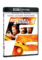 Fast Five 4K Ultra HD (2 Blu-ray)