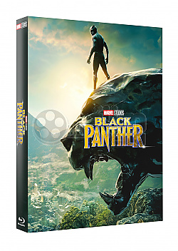 FAC #122 BLACK PANTHER Lenticular 3D FullSlip EDITION #2 3D + 2D Steelbook™ Limited Collector's Edition - numbered