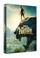 FAC #122 BLACK PANTHER Lenticular 3D FullSlip EDITION #2 3D + 2D Steelbook™ Limited Collector's Edition - numbered (Blu-ray 3D + Blu-ray)